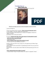 Padre Pio  (en Français)