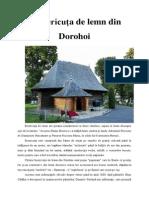 Bisericuța de lemn din Dorohoi