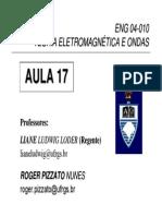 TEO Aula 17 -  Aula 04 Eletrodinâmica