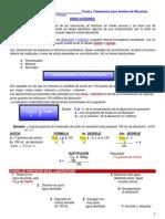Disoluciones Porcentuales y Molares T.T.a.M.