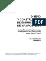 ingeniería civil - diseño de estructuras de mamposteria