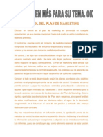 Control de Marketing Divison
