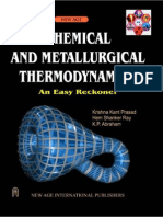 58299862 Chemical and Metallurgical Thermodynamics