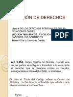 CESIÓN DE DERECHOS