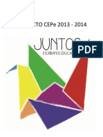 JUNTOS. Proyecto CEPe 2013- 2014
