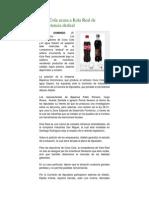Coca Cola Acusa a Kola Real de Competencia Desleal