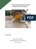treinamento betoneira