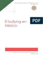 El bullying en México