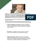 Sintomas de Autismo en Bebes - Clases de Autismo