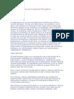 Principales materiales para la Impresión Flexográfica