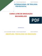 disciplina-Psicologia da Educação