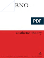 Theoder Adorno - Aesthetic Theory