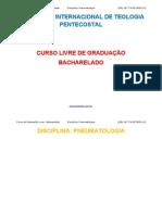 Disciplina Pneumatologia