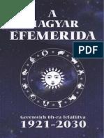 A Magyar Efemerida 1921-2030 0-71oldal