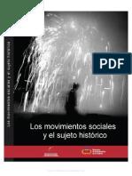Autores-varios Los movimientos sociales y el sujeto histórico.