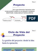 Descriptores - Formulación de Proyectos