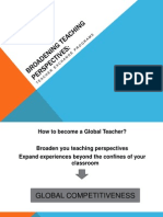 Broadening Teaching Perspectives