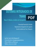 Clase 3 - Modos y Medios de Transporte en Colombia