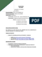 Instrucciones y Gant TRABAJO FINAL 8ºB Historia Jaime 10-10-13