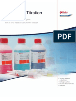 Volumetric Titration - High Quality titration reagents for all your needs in volumetric titration