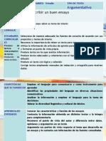 diapositivas cómo hacer un ensayo