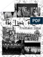 Freshman Issue Cover