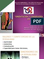 Consejeria en Salud Sexual y Reproductiva 2009