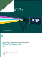 DSLR Cinematography Guide Spanish