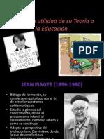 PIAGET (la psicología infantil y el desarrollo intelectual)