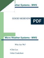 MWS Update