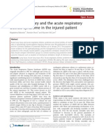Acute Lung Injury and the Acute Respiratory 2012