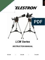 LCM Series Master 22050-InST_Eng - Celestron