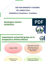 Washington Sánchez - Antibioticos B-láctamicos Penicilinas