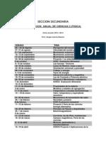 Planeacion Anual de Ciencias 2 (Fisica)