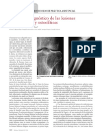 MEDICINE-ELSEVIER Protocolo diagnóstico de las lesiones OSTEBLASTICAS Y OSTEOLITICAS