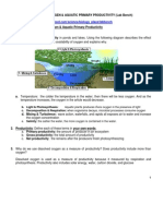dissolved oxygen  primary prod activity1