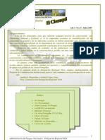 Boletín de Difusión El Chasqui n. 0-2009