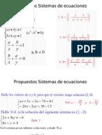 Propuestos Sistemas de EcuacionesyMatrices