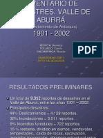Inventario de Desastres