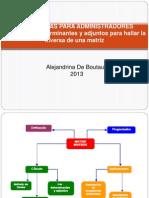 Inversa Por Determinantes y Adjuntos (2)