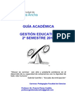 Guia Academica Pedag Ciencias 2o Sem. 2013
