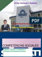 Competencias Sociales Y TECNICAS