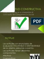 ACTITUD CONSTRUCTIVA