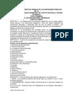 REGLAMENTO INTERIOR DE TRABAJO DE LOS SERVIDORES PÚBLICOS DE LA CUATITLAN IZCALLI