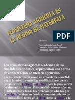 Ecosistema Agricola en La Region de Matehuala