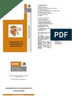 Guía de capacitación - Diagnostico de Necesidades de Capacitación