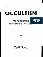 Cyril Acott - Occultism - An Alternative to Scientific Humanism