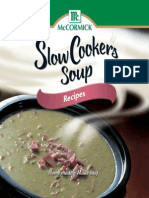 Slow Cooker Soup Book