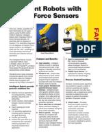 Intelligent Robots With FANUC Force Sensors