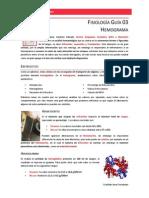 Fisiología Guía 03 - Hemograma